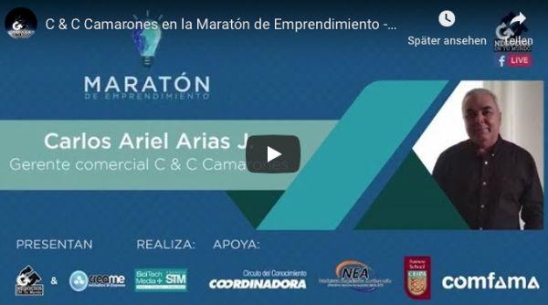 C & C Camarones en la Maratón de Emprendimiento